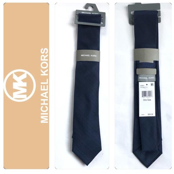 Michael Kors Men's Navy Tie